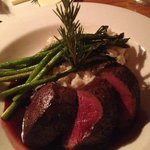 Red Deer with Truffle Risotto