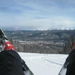 Breck fun with a view