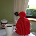 Irene had my tea ready every morning! We were pampered!