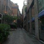 Entrada da Rua do Hotel.