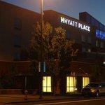 Hyatt at night