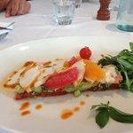 suggestion de pêche local salade de langouste 38€