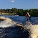 Water Sports on Big Sandy Lake