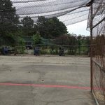 batting cage yuck!!!!