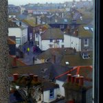 View of St Ives from the cafe