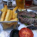 sirlion steak dinner...gorgeous!!