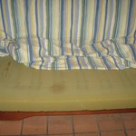 stained Sofa 'bed'