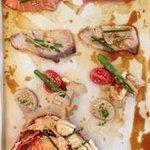 sizzling sashimi