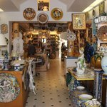 Gorgeous store full of italian pottery and specialty items from Italy!