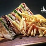 The Clubhouse club sandwich