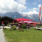 Ruebezahl Alm, A nice stop on a long walk