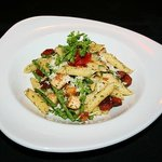 Chicken and Chorizo penne with green beans
