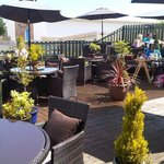 Unwind in our fabulous outdoor decking!
