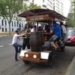 Beerbike en Madrid
