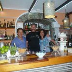 The owners of Lounge bar Il Cappuccino