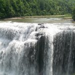 Middle falls at Letchworth State park approx. 30 min. from Little lakes Inn Awesome day trip