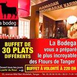 Ramadan à La Bodega de tanger