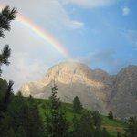L'arcobaleno dopo il temporale