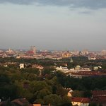 Vista de Munich desde la plata 18