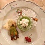 la zucchina nella zucchina