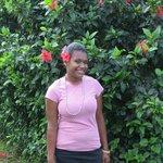 Young Fijian girl