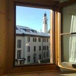 Zimmeraussicht vom alten Gebäudeteil aus
