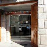 Awkis Dream Hotel Cusco street entrance