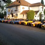 Lotus 7 Club Meeting - The Ringlestone Inn was the site of the original Lotus 7 launch!