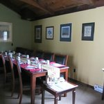 Our Dining Room and Art Gallery