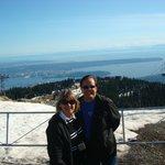 Vancouver vista da Grouse Mountain