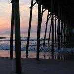 Sunrise at Kure Beach Pier