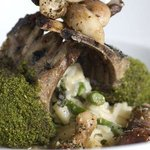 Herb encrusted Lamb shank