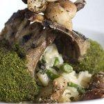 Herb encrusted Lamb shank