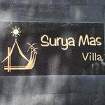 Villa Sign