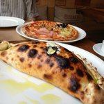 The yummy calzone