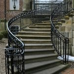 McCormick mansion stairs