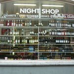 a convenience shop conveniently located on the same street