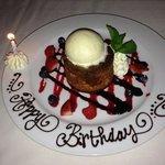 butter birthday cake!!
