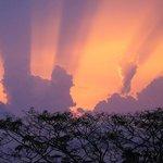 Sunset at Niyagama House