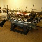 Allison V-1710 engine in Annex