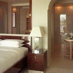 Presidential Suite Bedroom and Bathroom