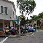 Lane near hotel