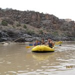Other rafts in our group.