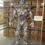 Mr. Freeze costume worn by Schwarzenegger in Batman Forever.