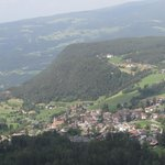 Siusi viewed from the cable car