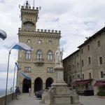 at Palazzo Pubblico
