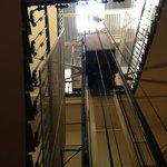 лестница ведущая в гостиницу