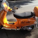 the bel Cibo Vespa