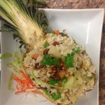 pineapple fried rice look nice and good