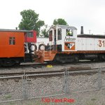Caboose & Switcher for the Yard Ride